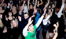 Новогодняя дискотка с фуршетом на 500 человек для Банка Интеза. 2010